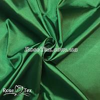 Стрейчевый атлас (Зеленый)