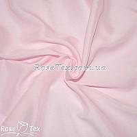 Штапель однотонный нежно-розовый