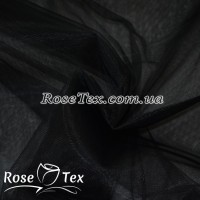 Фатин мягкий черный