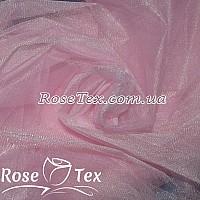 Фатин мягкий бледно-розовый