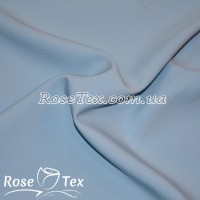 Креп костюмка (Флорида) - бледно-голубой