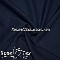 Креп роуз темно-синий
