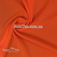 Креп шифон (оранжевый)