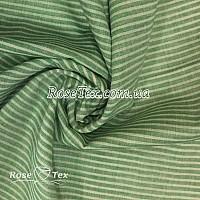 Рубашка принтованная полоска зеленый