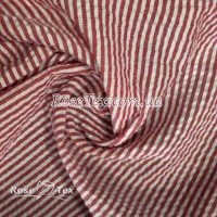 Рубашка крэш принтованная полоска красная 3мм