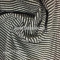 Рубашка крэш принтованная полоска темно-серая 3мм