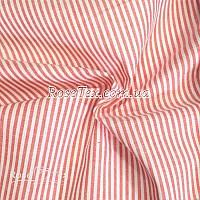 Рубашка принтованная полоска красная  3мм