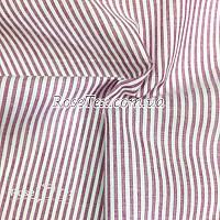 Рубашка принтованная полоска розовая  3мм