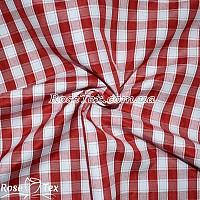 Рубашка принтованная клетка красная 12мм