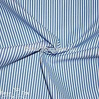 Рубашка принтованная полоска светлый электрик 2,5мм