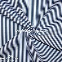 Рубашка принтованная полоска электрик 2мм