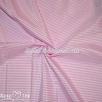 Рубашка принтованная полоска розовая 2мм