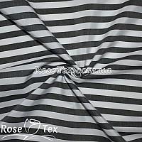Рубашка принтованная полоска черный 10мм