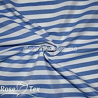 Рубашка принтованная полоска электрик 10мм
