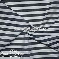Рубашка принтованная полоска темно-синий 10мм