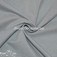 Рубашка принтованная полоска черная 1мм