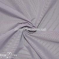 Рубашка принтованная полоска марсала 1мм