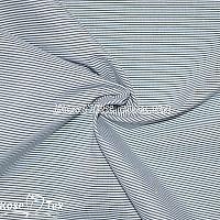 Рубашка принтованная полоска темно-синяя 1мм