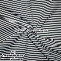 Рубашка принтованная полоска черный 4мм