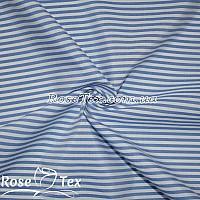 Рубашка принтованная полоска электрик 4мм