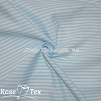 Рубашка принтованная полоска голубой 4мм