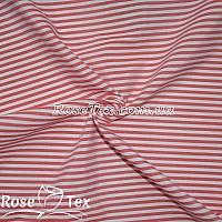 Рубашка принтованная полоска красный 4мм