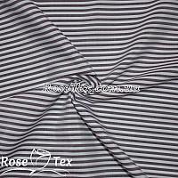 Рубашка принтованная полоска марсала 4мм