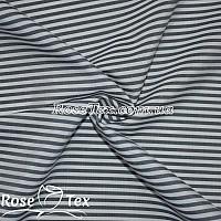 Рубашка принтованная полоска темно-синий 4мм