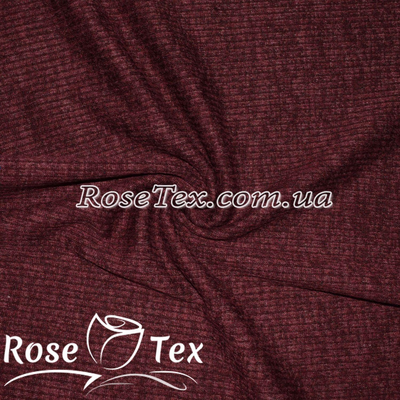 Купити тканину Ангора-Софт полоска 6мм темно-бордовий  оптом і в ... 26c6bc0445fbd