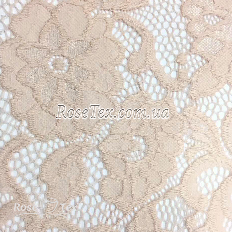 97dff34e2486 Купить ткань Гипюр кружево розы
